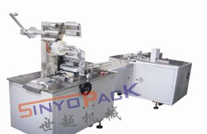 Adjustable Heat-Sealing BOPP Cellophane Overwrapping Machine (with tear tape) pictures & photos