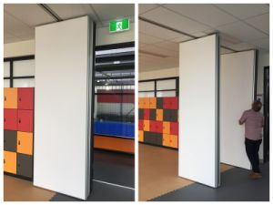 Soundproof Moveable Partition Wall For School Stadium pictures & photos