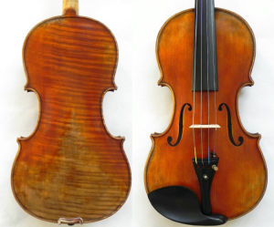 Soloist Violin! Hand Made Stradivari 1716 Messiah Violin! 1-P Back Violin (RH-501)