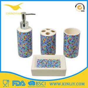 Excellent Quality Ceramic Bathroom Accessory Bathroom Set 4PCS pictures & photos