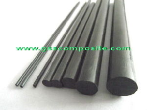 High Strength Pultruded Carbon Fiber Fabric Solid Rods for Shafts