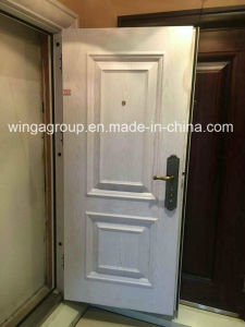 Hot Sell Outside Security Metal Exterior Steel Iron Door pictures & photos