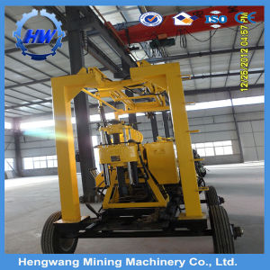 Trailer Mounted Portable Crawler Rotary Drilling Rig pictures & photos
