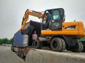 6ton Wheel Excavator Xn65-4L pictures & photos