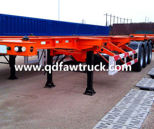 40ft Skeleton Shipping Container Trailer pictures & photos