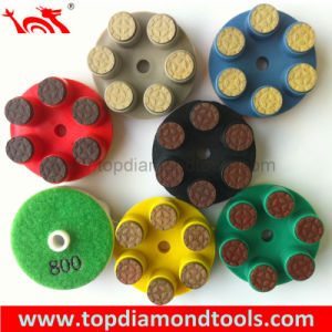 Finger Resin Polishing Wheel for Concrete pictures & photos