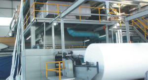 3200/1600/2400mm PP Spunbond Non-Woven Fabric Making Machine (ML) pictures & photos