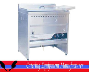 Gas Commercial Oil-Water Mixed Fryer for Frying Chicken (GZL-62) pictures & photos