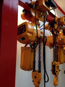 Kito Type 5ton Electric Chain Hoist with Trollry Hoist/ Double Speed pictures & photos