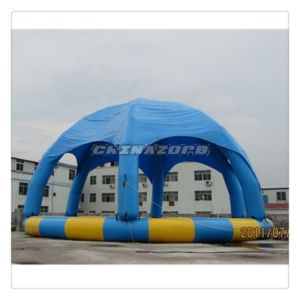 Top Design Rounded Inflatable Tent Pool Authentic Quality