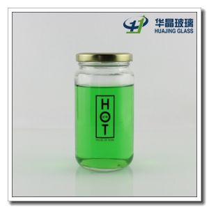 Best Selling 350ml Decal Jam Glass Jar