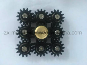 Newest Aluminum 9 Gears Linkage Fidget Hand Spinner - Hand Toys pictures & photos