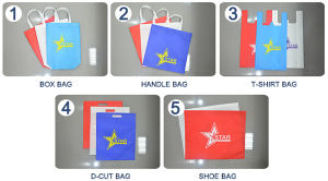 Eco Friendly Non Woven T Shirt Bag Making Machine pictures & photos
