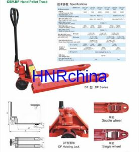 Hand Hydraulic Pallet Jack / Truck pictures & photos