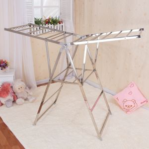 Stainless Steel Butterfly Shape Clothes Airer (158c)