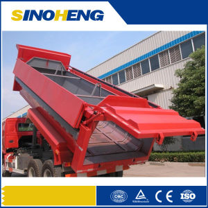 Sinotruk 16m3 Tipping Garbage Truck with Box Cover pictures & photos