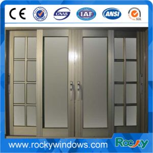 Aluminum Casement Window with Double Glass pictures & photos