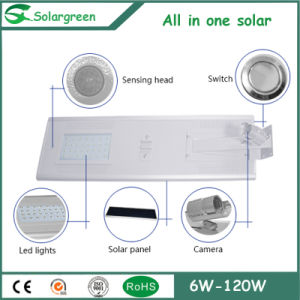 Rational Design Full All-in-One 50W LED Solar Street Light pictures & photos