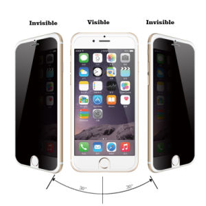 Anti-Spy Tempered Glass Screen Protector for iPhone 6 pictures & photos
