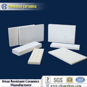 92%&95% Abrasion Resistant Ceramic Square Tile for Conveying pictures & photos