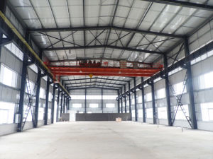 ISO9001 Standard Large Span Steel Structure Workshop/Warehouse Building pictures & photos