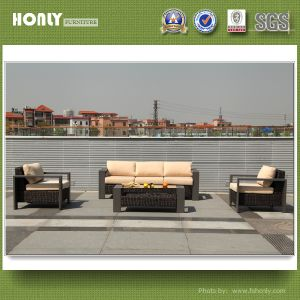 European New Design Kd Sofa Set Outdoor Aluminium Rattan Furniture Sofa