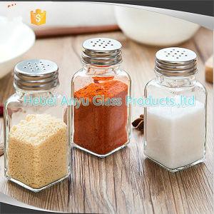 Glass Bottle for Salt Pepper Seasoning Spice, Shakers Salt Pepper Barbecue Condiment Bottles pictures & photos