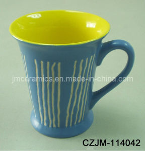 Stoneware V Shape Mug pictures & photos