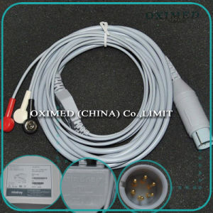 Original New Mindray Pm8000 ECG Cable 0010-30-43121, 3 Lead Mindray ECG Cable 0010-30-43121