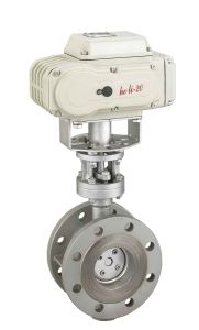 Hard Seal Butterfly Valve with Electric Actuator Hl-50 pictures & photos