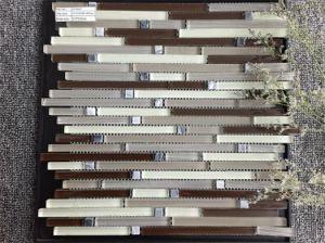 Pop Design Strip Mosaic Tile pictures & photos