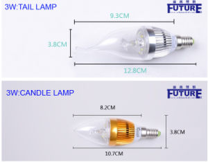 Safe and Healthy LED Bulb 3W LED Candle Bulb pictures & photos