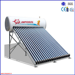High Efficiency Compact Pressurized Solar Water Heater for Home pictures & photos