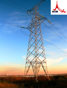 220kv Linear Angle Steel Power Transmission Tower pictures & photos