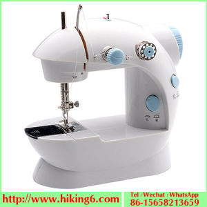 Portable Mini Sewing Machine with Double Thread pictures & photos