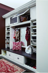 Solid Finish Closet Walk in Closet Design (BF32) pictures & photos