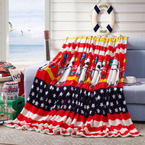 Hot Sale Super Soft Printed Flannel Blanket Coral Fleece Blanket (SR-B170318-6) pictures & photos