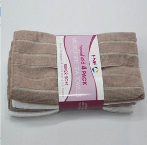 Highly Water Adsorption Microfiber Towel/Soft Clean Cloth pictures & photos