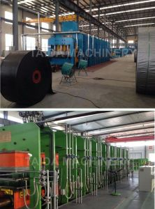 Steel Cord Rubber Conveyor Belt Vulcanizing Press Vulcanizer Machine Production Line pictures & photos
