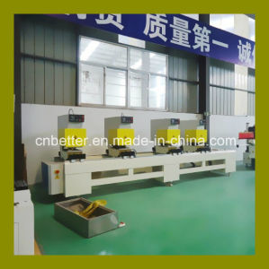 2015 Hot Sale CE UPVC Window Door Process Machine, PVC Window Welding Cleaning Machine