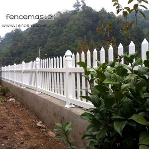 Lifetime Warranty PVC Garden Fence pictures & photos