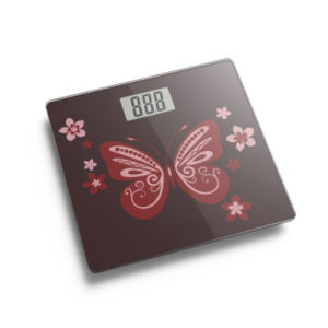 Large LCD Display Electronic Weighing Scale with Full Plastic Base pictures & photos