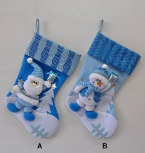 High Quality&New Design Xmas Sock Decoration pictures & photos