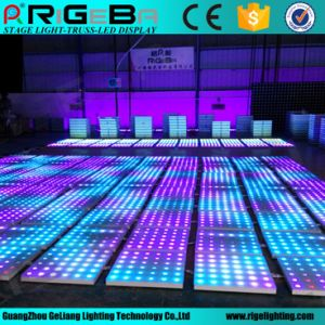 60*60mm Cheap Portable Used DJ RGB Color LED Dance Floor for Sale pictures & photos