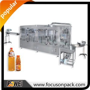 Automatic Hot Filling Monoblock Juice Bottle Filling Machine pictures & photos