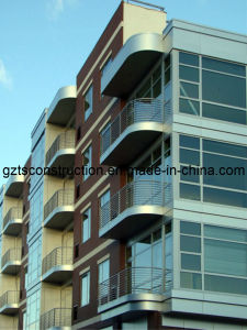 Unitized Curtain Wall / Curtain Wall / Spdier Fitting pictures & photos