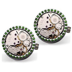 Hot Selling Newest Style Watch Movement Cufflinks for Men Wm-1020