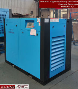 Industrial Direct Driven Single Stage Rotary Screw Air Compressor pictures & photos