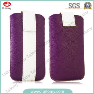 Magnet Fashion Mobile Phone Leather Case for Samsung A3