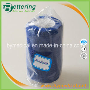 "3"" Width Blue Colour Non Woven Self Adhesive Bandage pictures & photos"